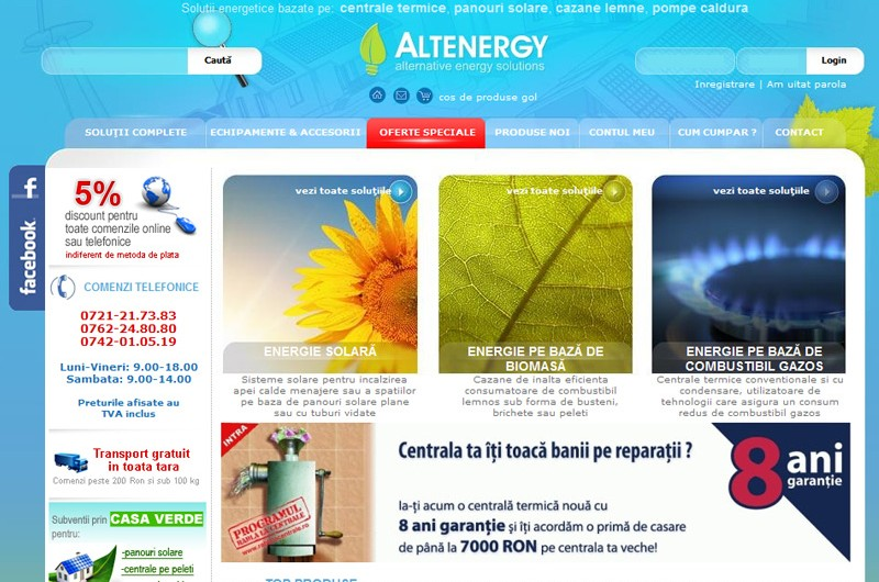 Website Altenergy