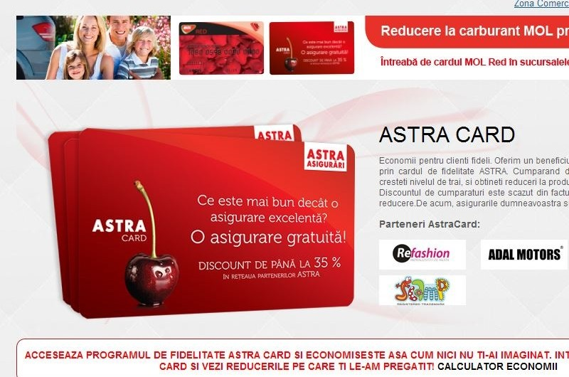 Astra Card